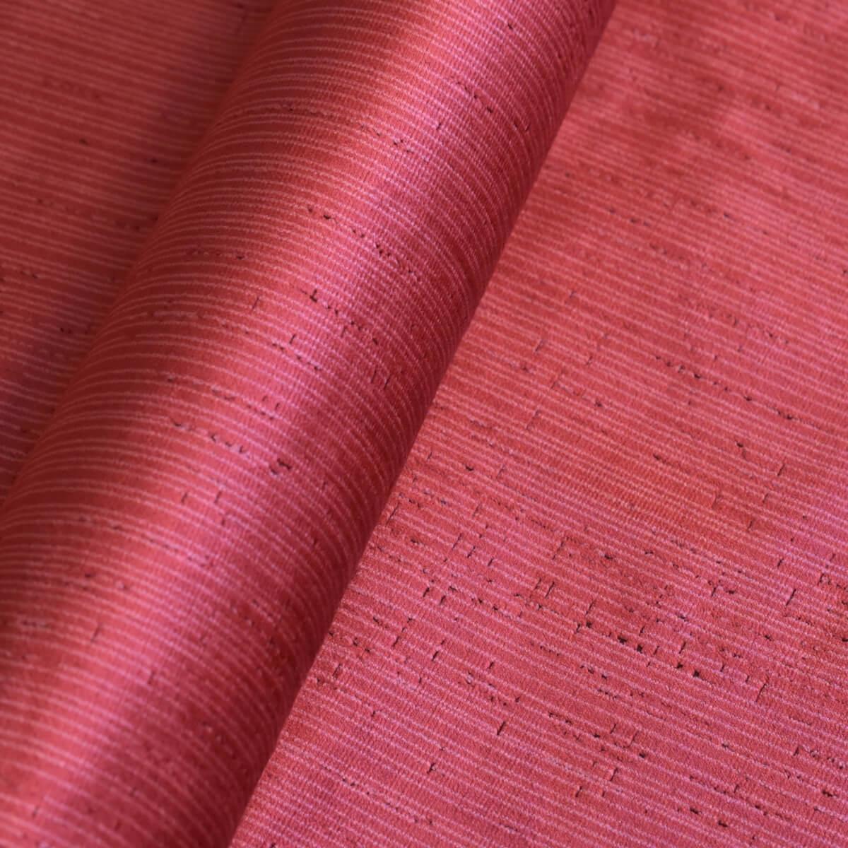 Velluto bacchetta Taccheggiato 340-3946S rosso | Tessiture Bevilacqua