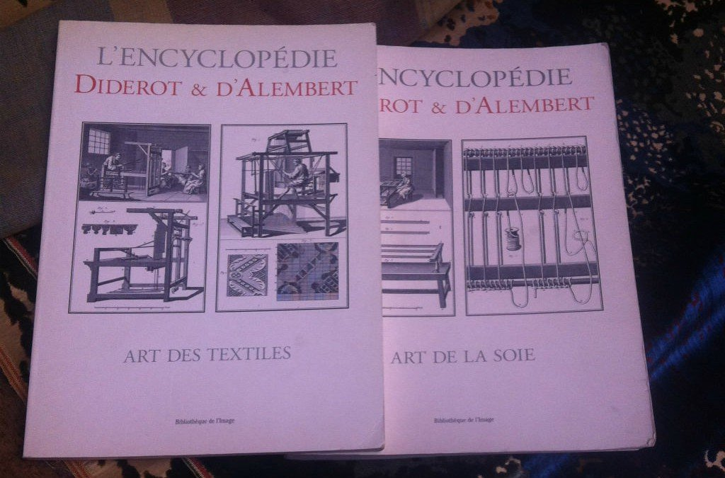 Weaving according to Diderot and D'Alembert