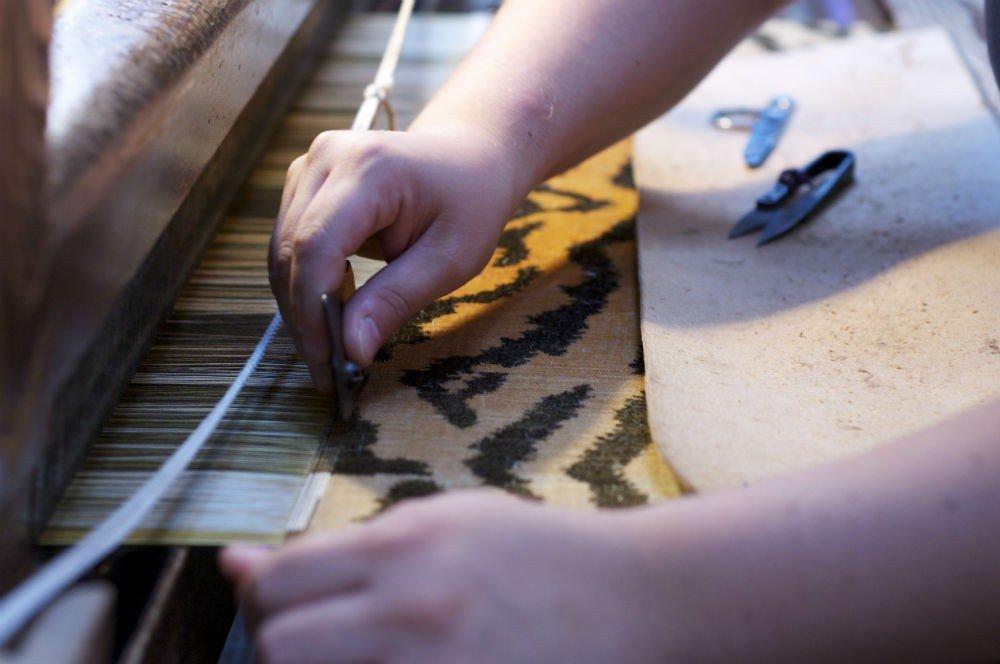 Tagliare velluto | Tessiture Bevilacqua