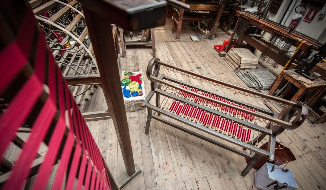 Macchine per tessitura antiche | Tessitura Bevilacqua