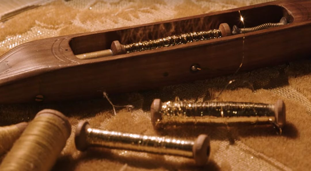 Tessuto fili di oro Dolce and Gabbana | Tessiture Bevilacqua