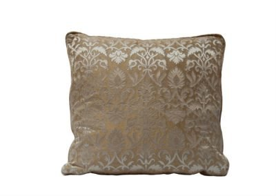 Rinascimento brocatelle cushion
