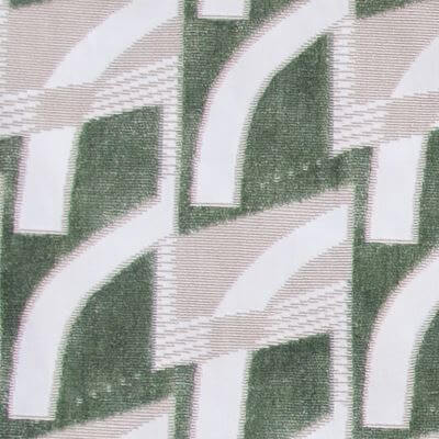 Velluto Goteborg 005-34030 verde-beige chiaro | Tessitura Bevilacqua