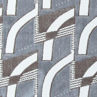 Velluto Goteborg grigio-marrone | Tessitura Bevilacqua
