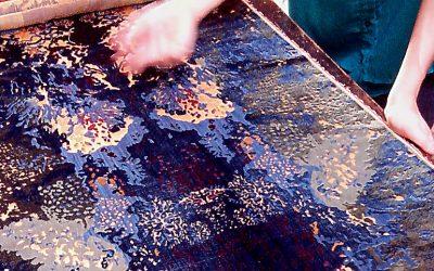 Come nasce un velluto: dal disegno al telaio