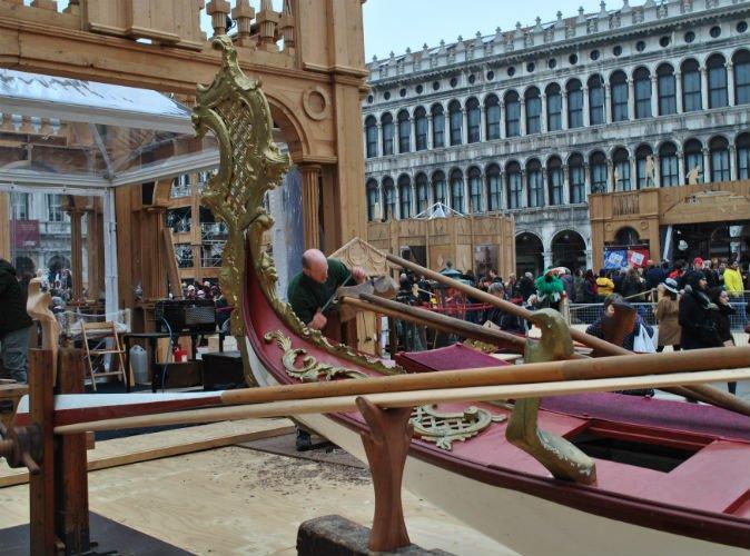 Gondola Dogaressa oarlock | Tessitura Bevilacqua
