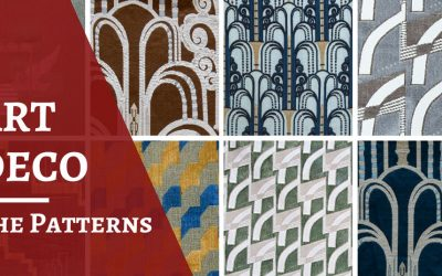 Not just lines: the patterns of Art Deco fabrics