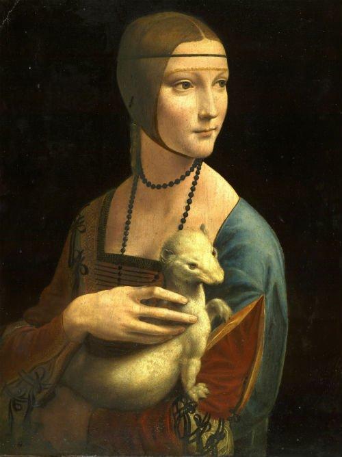 Leonardo Da Vinci - Dama con l'ermellino | Tessitura Bevilacqua