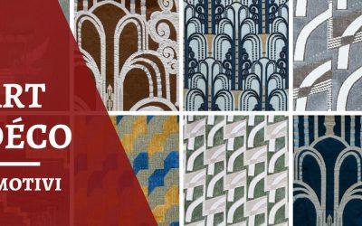 Non solo linee: le fantasie dei tessuti Art Déco