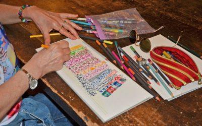 Weaving… on paper