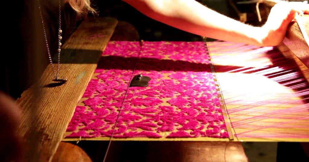 Produzione tessuti di velluto | Tessitura Bevilacqua