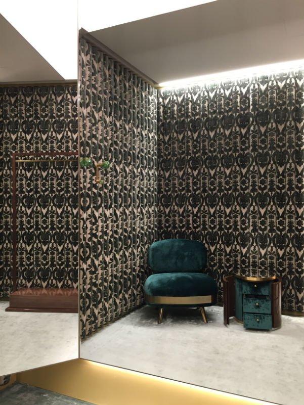 Boutique D&G Palazzo Torres Velvet Senatori | Tessiture Bevilacqua