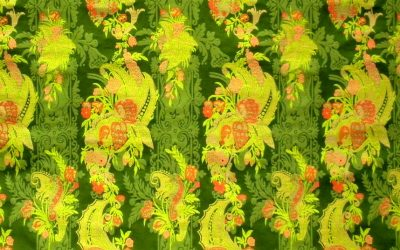 """The most eccentric brocade pattern? The """"bizarre"""""""