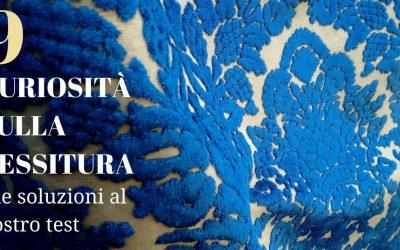 Un po' di curiosità sui tessuti a Venezia