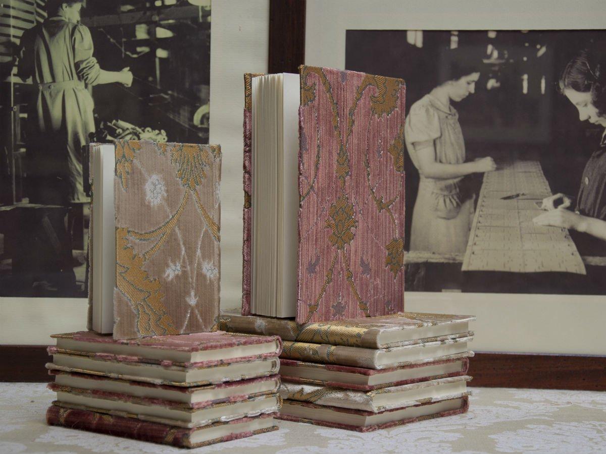 Accessori velluto Bevilacqua-agende | Tessitura Bevilacqua