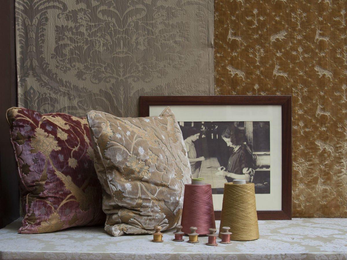 Accessori velluto Bevilacqua-cuscini | Tessitura Bevilacqua