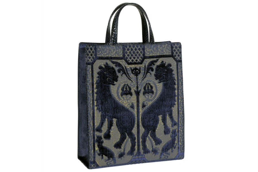 Bevilacqua Tote Bag-velluto Leoni | Tessitura Bevilacqua