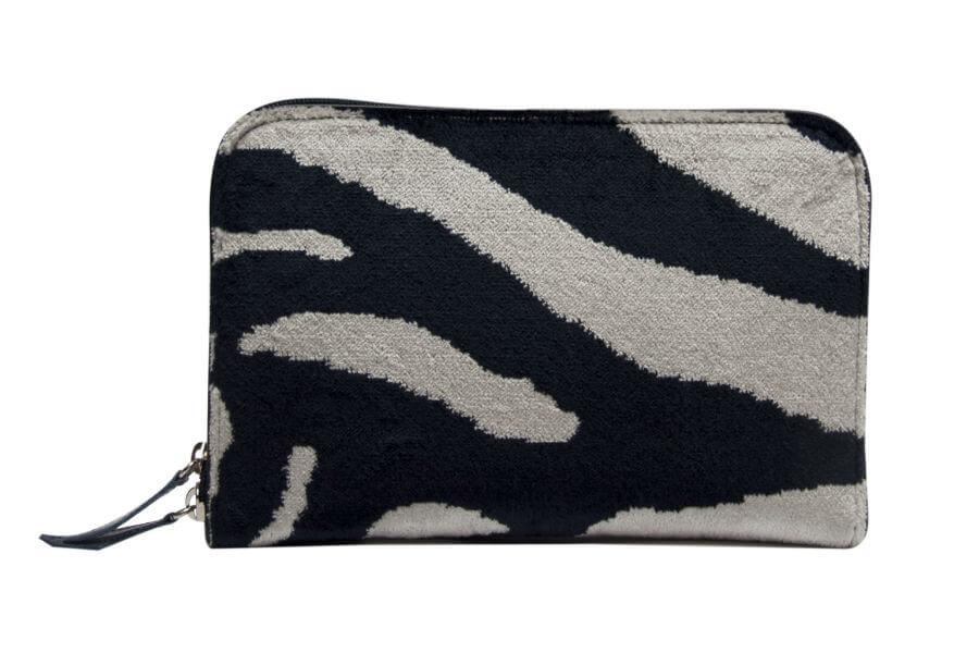 Bianca-Zebra bianco nero-1 | Tessitura Bevilacqua