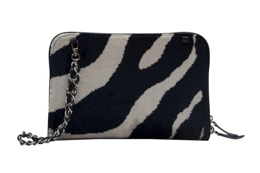Bianca-Zebra bianco nero-2 | Tessitura Bevilacqua