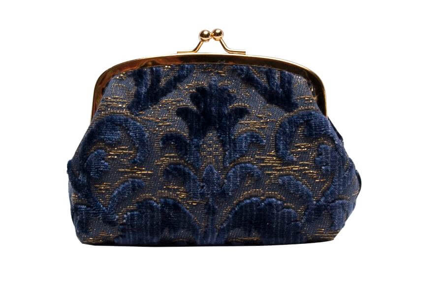 Isabella-Rinascimento blu-4 | Tessitura Bevilacqua