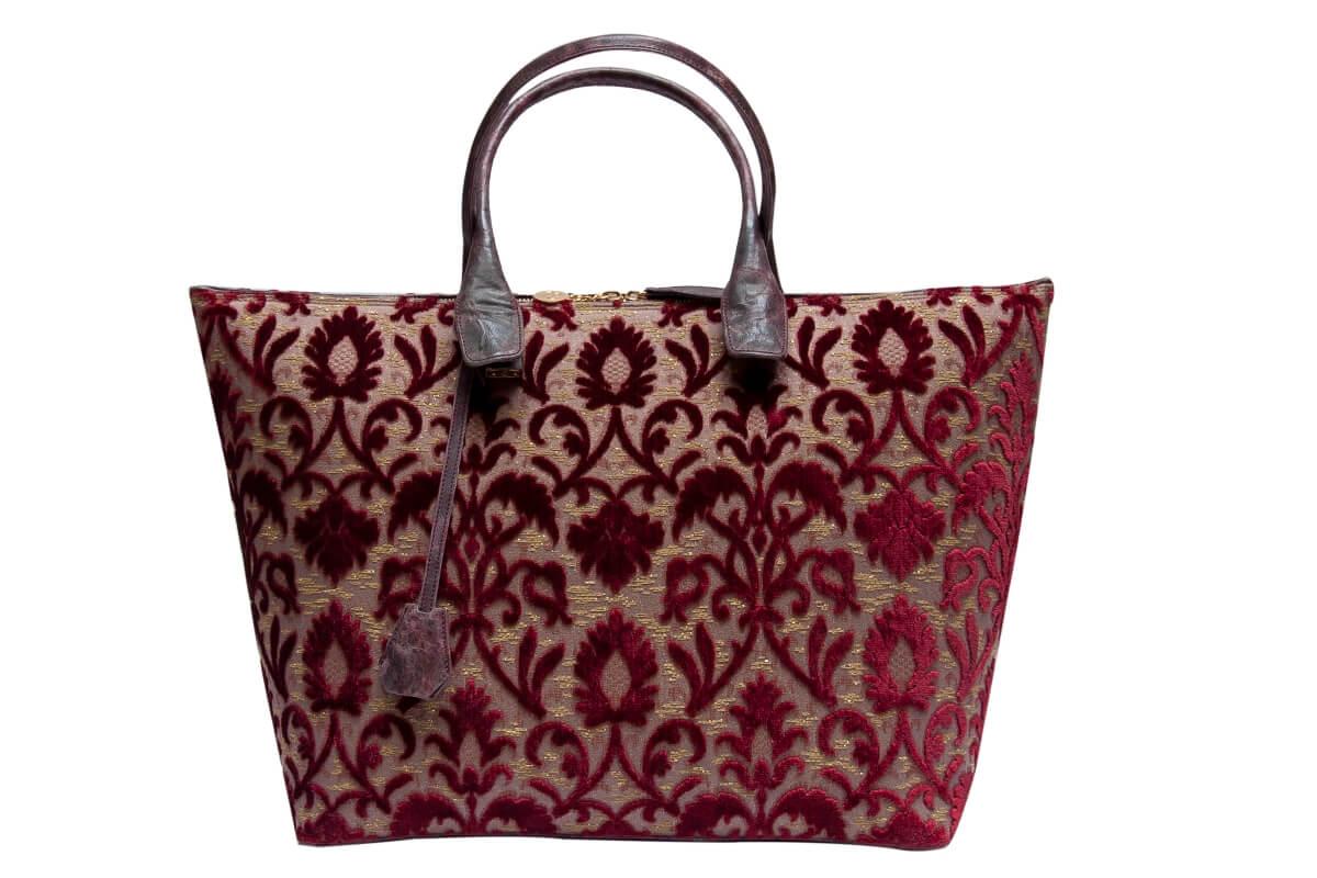 Rosalba Velluto Rinascimento rosso | Tessiture Bevilacqua