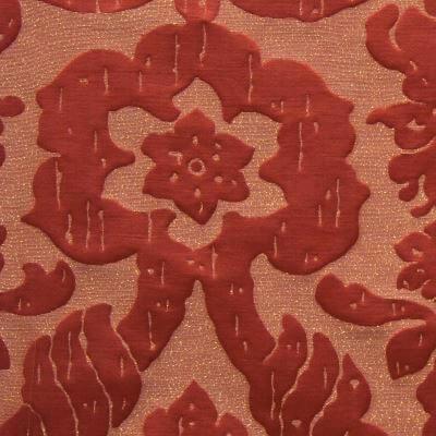 Broccatello Senatori corallo 094-3470 | Tessitura Bevilacqua
