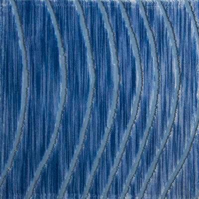 Velluto Onda egeo 657-3937 | Tessitura Bevilacqua