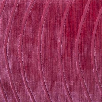 Velluto Onda ibisco 650-3739 | Tessitura Bevilacqua
