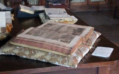 I nostri cuscini all'Archivio del Patriarcato di Venezia