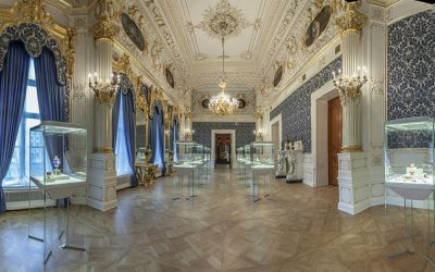 The treasures of the Fabergé Museum in St. Petersburg