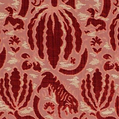 Velluto Caccia 050-3349 rosso | Tessiture Bevilacqua