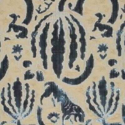 Velluto Caccia 057-3349 indaco | Tessiture Bevilacqua