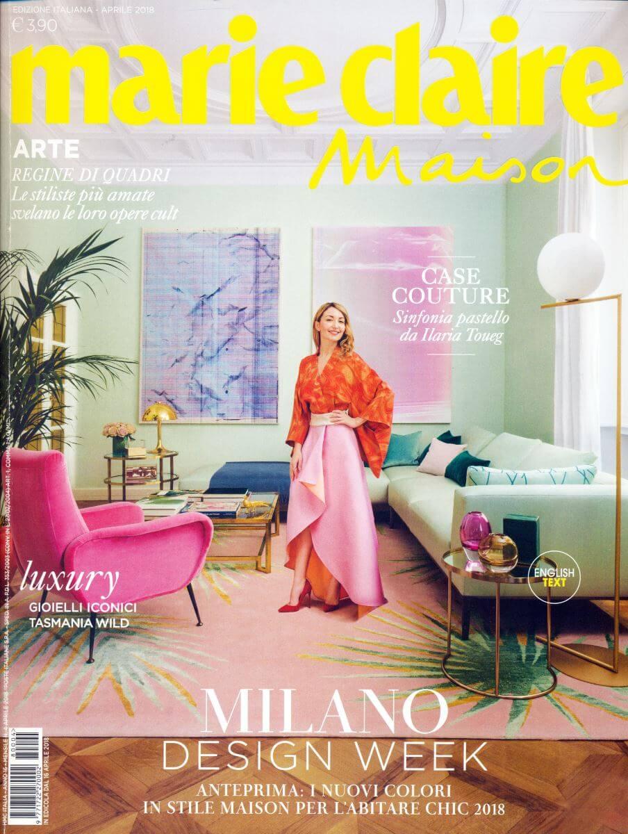 Marie Claire Maison-04-2018 | Tessitura Bevilacqua