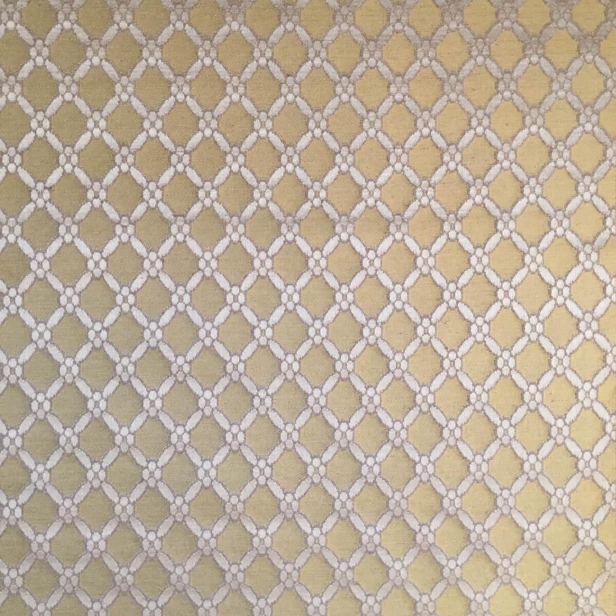 Broccatello Griglia 100-3462 oro | Tessiture Bevilacqua
