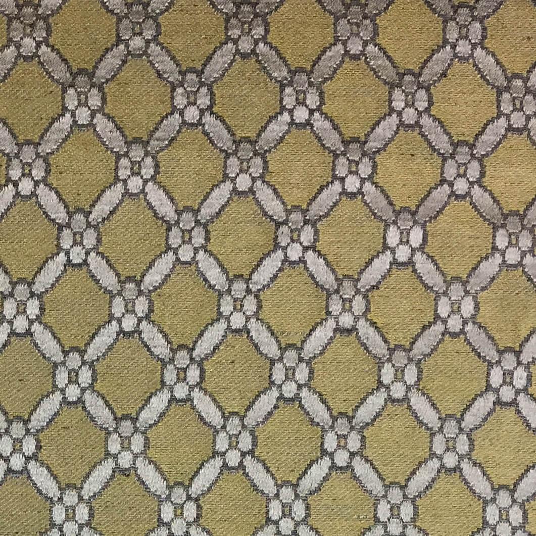 Broccatello Griglia 101-3462 oro antico | Tessiture Bevilacqua