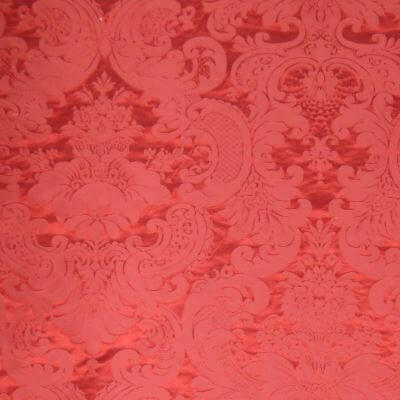 Damasco 31026 244-31026 rosso | Tessiture Bevilacqua