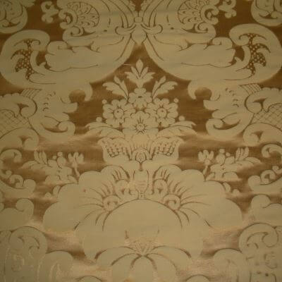 Damasco 31026 245-31026 giallo antico | Tessiture Bevilacqua