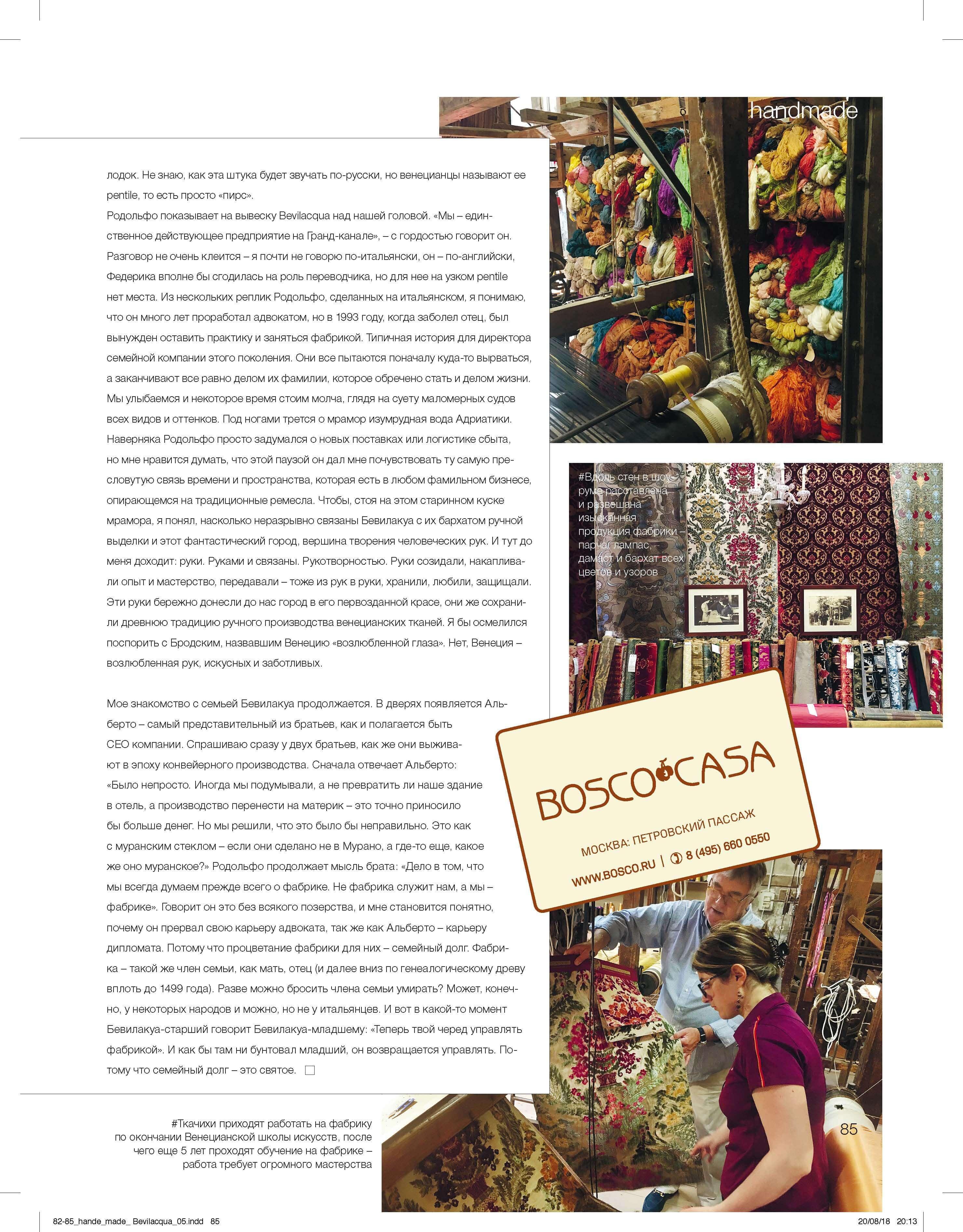Boscomagazine autumn 2018 4