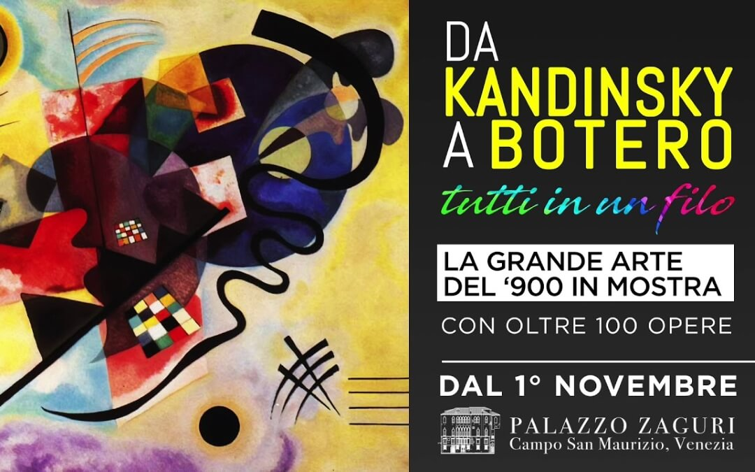 From Kandinsky to Botero. All in One Thread