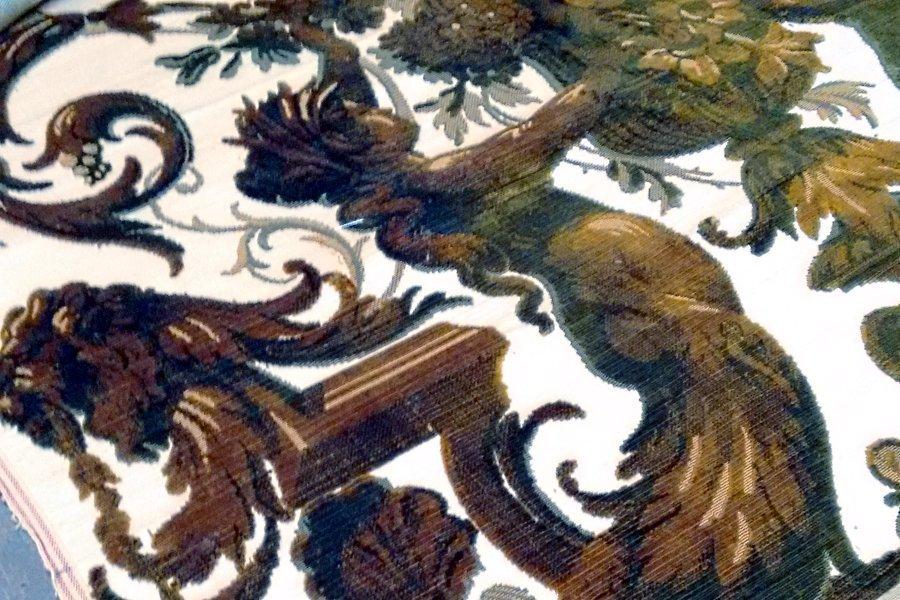 Velluto Cremlino dettaglio | Tessiture Bevilacqua
