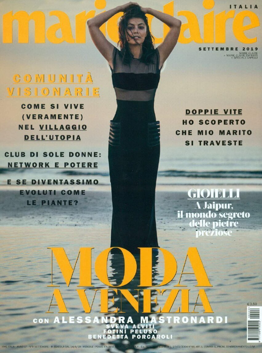 Marie Claire Italia-09-2019-1 | Tessiture Bevilacqua