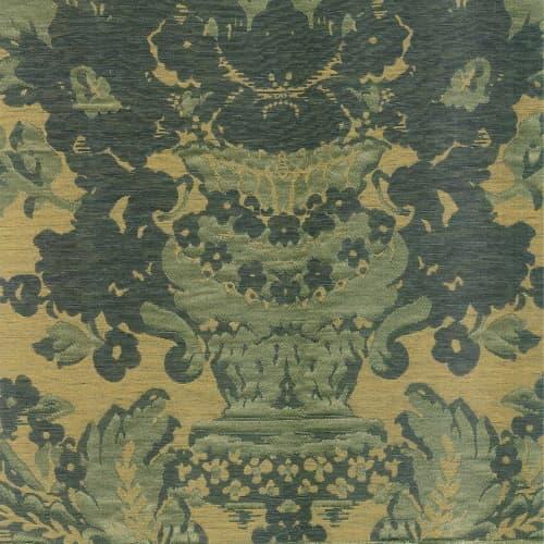 Broccatello Giardino verde antico 111-34248 | Tessitura Bevilacqua