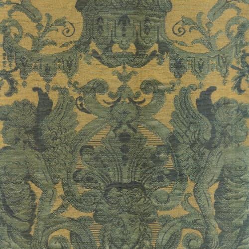 Broccatello Grottesche verde antico 111-34135 | Tessitura Bevilacqua