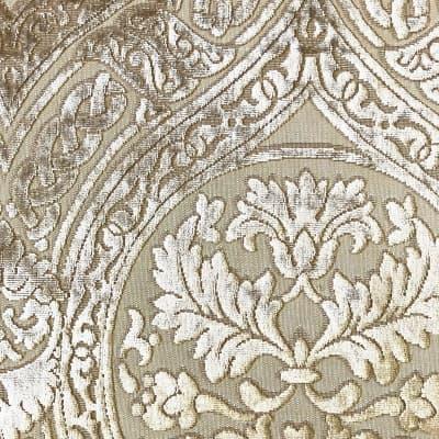 Velluto bacchetta Da Vinci 342-39243s avorio | Tessitura Bevilacqua