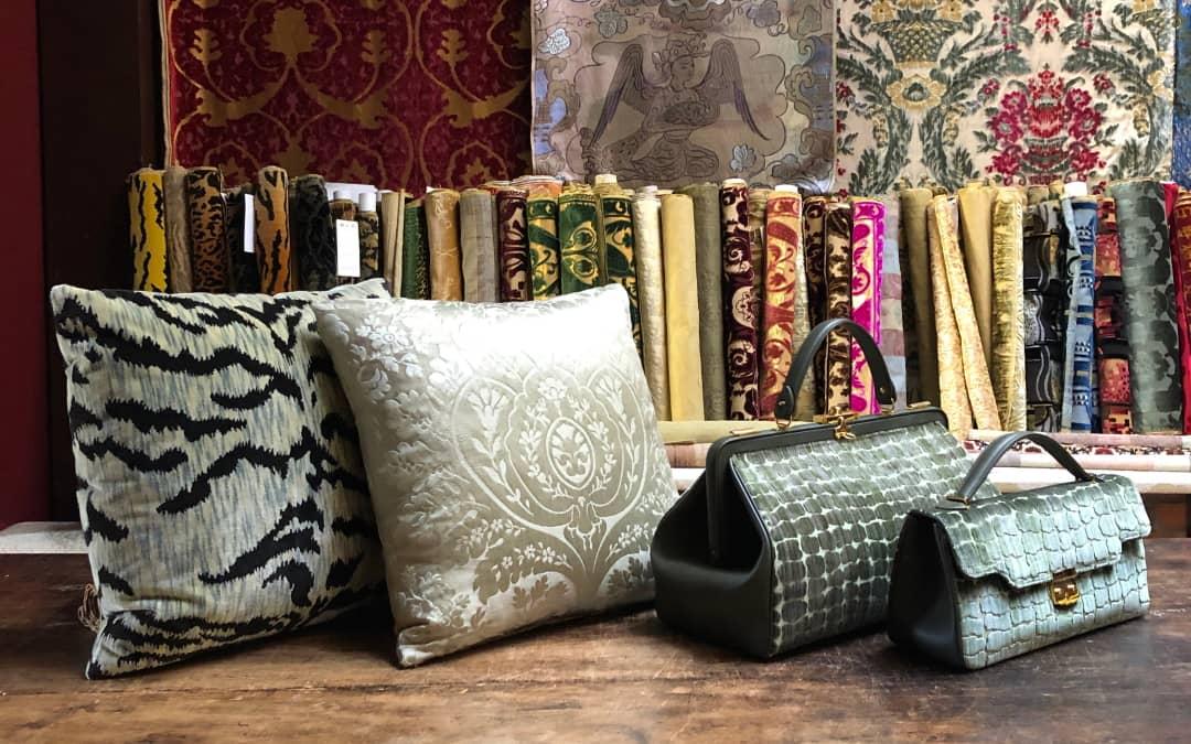 Borse e cuscini per arredo | Tessitura Luigi Bevilacqua