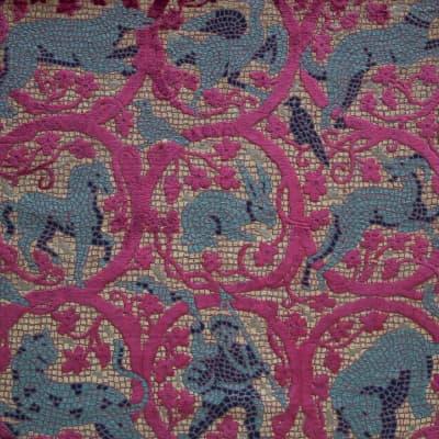 Velluto Mosaico | Tessitura Luigi Bevilacqua