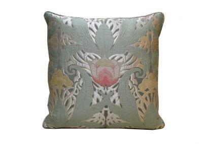 Подушка из лампасной ткани «Tulipani»