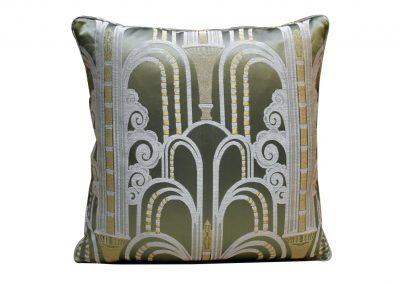 Подушка из лампасной ткани «Walls»