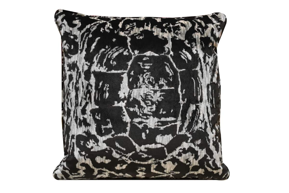 Cuscino Velluto Tartaruga Stone | Tessitura Bevilacqua