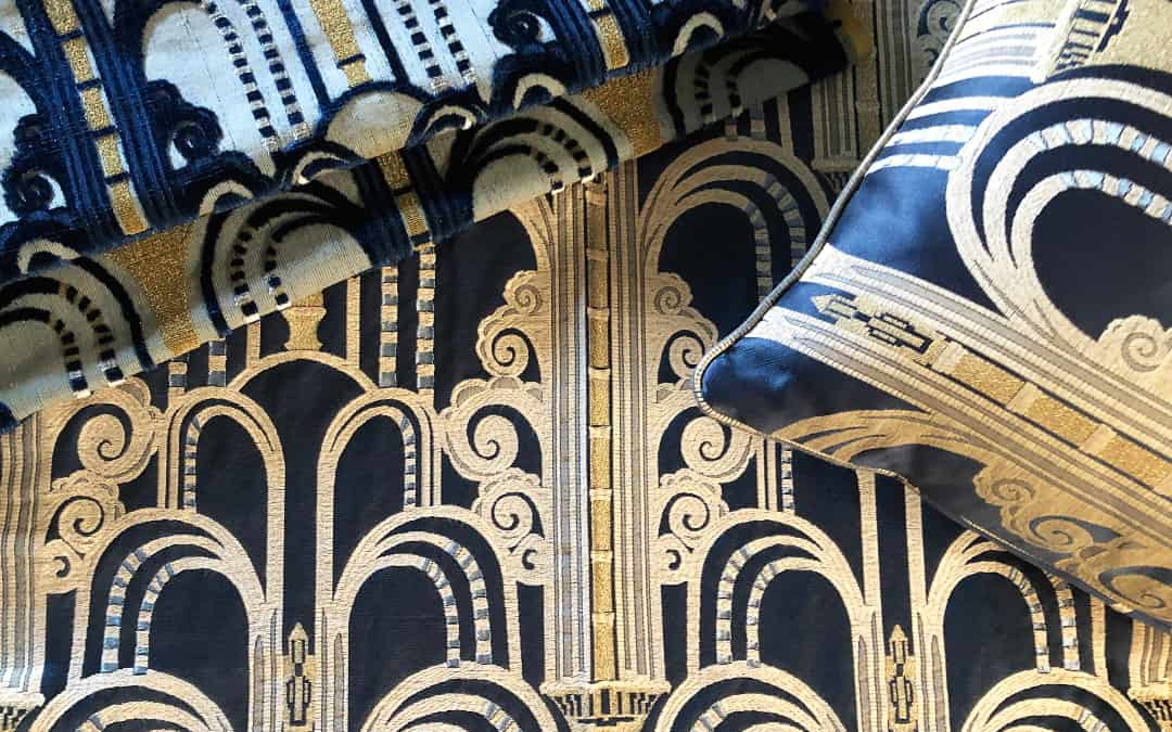 The patterns of Art Deco fabrics: modernity and elegance reloaded